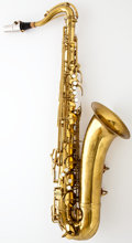 Musical Instruments:Horns & Wind Instruments, 1943 Conn Naked Lady Brass Tenor Saxophone #350766...
