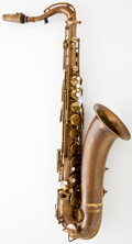Musical Instruments:Horns & Wind Instruments, 1932 Selmer Cigar Cutter Brass Alto Saxophone #16472...