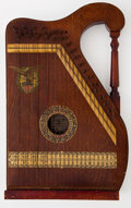 Musical Instruments:Miscellaneous, 1900's Oscar Schmidt Zither Brown #9916...
