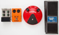 Musical Instruments:Amplifiers, PA, & Effects, Pedal Lot Fuzz Face Ross Phaser Next Chorus, DeArmond Volume EffectPedal ...