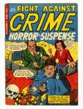 Golden Age (1938-1955):Horror, Fight Against Crime #10 (Story Comics, 1952) Condition: FN....