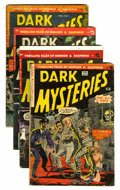 Golden Age (1938-1955):Horror, Dark Mysteries #13 and 15-17 Group (Master Publications, 1953-54)Condition: Average VG+ except as noted.... (Total: 4 Comic Books)