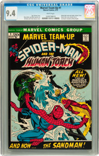 Marvel Team-Up #1 Spider-Man and Human Torch (Marvel, 1972) CGC NM 9.4 White pages