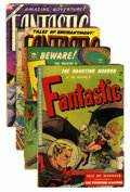 Golden Age (1938-1955):Horror, Fantastic/Fantastic Comics Group (Youthful Magazines, 1952-55)....(Total: 4 Comic Books)