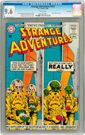 Silver Age (1956-1969):Science Fiction, Strange Adventures #154 Twin Cities pedigree (DC, 1963) CGC NM+ 9.6White pages....