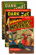 Golden Age (1938-1955):Horror, Dark Mysteries #8, 11, and 12 Group (Master Publications,1952-53).... (Total: 3 Comic Books)