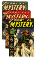 Golden Age (1938-1955):Horror, Journey Into Mystery #13, 17, and 19 Group (Marvel, 1953-54)....(Total: 3 Comic Books)