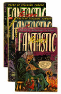 Golden Age (1938-1955):Horror, Fantastic Fears #7 (#1), 4, and 8 Group (Farrell, 1953-54)....(Total: 3 Comic Books)