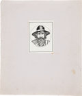 "Original Comic Art:Miscellaneous, S. Clay Wilson 20 Drawings Portfolio ""Cowboy"" Edition withAdded Inscription (Abington Book Shop, 1967) Condition:..."