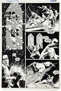 Original Comic Art:Panel Pages, Frank Miller and Klaus Janson Daredevil #190 Daredevil andStone vs. The Hand page 29 Original Art (Marvel, 1983)....