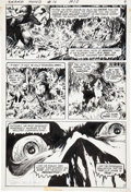 Original Comic Art:Panel Pages, Bernie Wrightson Swamp Thing #10 page 7 Original Art (DC,1974)....