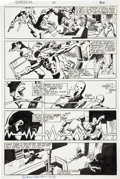 Original Comic Art:Panel Pages, Frank Miller and Klaus Janson Daredevil #167 page 30Original Art (Marvel, 1980)....
