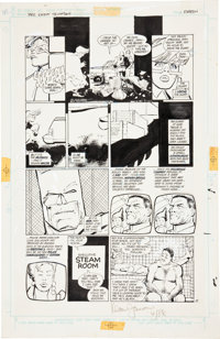 Frank Miller and Klaus Janson Batman: The Dark Knight Returns #2 page 15 Original Art (DC, 1986)