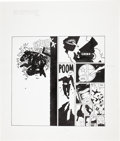 Original Comic Art:Covers, Frank Miller LA Weekly Cover dated May 3-9, 1991 FirstPublished Sin City Cover Image Original Art (1991)....