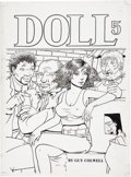 Original Comic Art:Covers, Guy Colwell Doll #5 Cover Original Art (Rip Off Press,1990)....