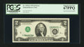 Error Notes:Inverted Third Printings, Fr. 1935-E $2 1976 Federal Reserve Note. PCGS Superb Gem New67PPQ.. ...