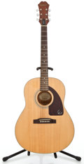 Musical Instruments:Acoustic Guitars, Recent Epiphone AJ15E Natural Acoustic Guitar #Z99081766...