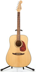 Musical Instruments:Acoustic Guitars, 1980s Fender Redendo Natural Acoustic Guitar #6641187...