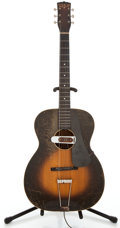 Musical Instruments:Acoustic Guitars, 1939 Washburn 5255 Sunburst Archtop Acoustic Guitar #400...