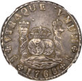 Chile, Chile: Carlos III Pillar 8 Reales 1768-A,...