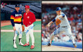 Baseball Collectibles:Uniforms, Nolan Ryan and Pete Rose Signed Photographs Lot of 2....