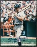 "Baseball Collectibles:Photos, Mickey Mantle ""51-68"" Signed Oversized Photograph...."