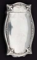 Silver Smalls:Match Safes, A BATTIN SILVER AND SILVER GILT COMBINATION MATCH SAFE AND PICTUREFRAME HOLDER . Battin & Co., Newark, New Jersey, circa 18...