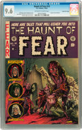 Golden Age (1938-1955):Horror, Haunt of Fear #14 Gaines File pedigree 9/12 (EC, 1952) CGC NM+ 9.6Off-white to white pages....
