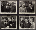 """Movie Posters:Film Noir, Night Has a Thousand Eyes (Paramount, 1948). British Front of House Photo Set of 8 (8"""" X 10""""). Film Noir.. ... (Total: 8 Items)"""