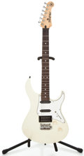 Musical Instruments:Electric Guitars, Yamaha Pacifica 912 White Solid Body Electric Guitar #QH06012...