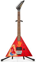 Musical Instruments:Electric Guitars, Kramer Gorky Park Red Solid Body Electric Guitar #AC1952...