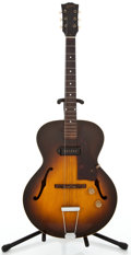 Musical Instruments:Electric Guitars, 1950 Gibson ES-125 Sunburst Archtop Electric Guitar #5512 29...