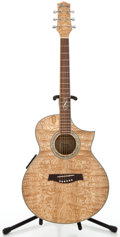 Musical Instruments:Acoustic Guitars, Ibanez EW20A Natural Acoustic Guitar #SQ06111903...