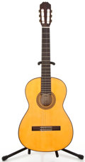 Musical Instruments:Acoustic Guitars, 1970s Aria AC70F Natural Classical Guitar #SC201073...
