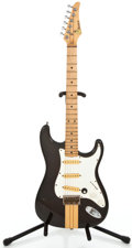 Musical Instruments:Electric Guitars, 1980s G Series Strat Copy Dark Brown Solid Body Electric Guitar#N/A...