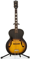 Musical Instruments:Acoustic Guitars, 1950s Harmony Master Sunburst Archtop Acoustic Guitar #3635H9451...