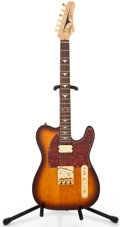 Musical Instruments:Electric Guitars, Tradition J.R. Tele Sunburst Solid Body Electric Guitar#06061240...