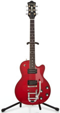 Musical Instruments:Electric Guitars, Recent DeArmond FMT Trans Red Solid Body Electric Guitar#KC00117684...