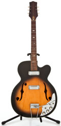 Musical Instruments:Electric Guitars, 1960's Project Import Archtop Sunburst Archtop Electric Guitar#N/A...