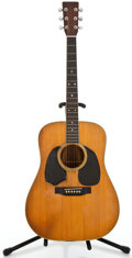 Musical Instruments:Acoustic Guitars, 1973 Martin D35 Natural Acoustic Guitar #331733...