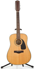 Musical Instruments:Acoustic Guitars, Recent Fender DG10/12 Natural 12 String Acoustic Guitar#96111211...
