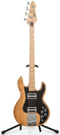 Musical Instruments:Electric Guitars, 1980 Peavy T-40 Natural Electric Bass Guitar #00421125...