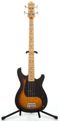 Musical Instruments:Electric Guitars, 1980s Ibanez Roadstar II Sunburst Electric Bass Guitar #K833371...