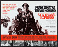 "Movie Posters:War, Von Ryan's Express (20th Century Fox, 1965). British Front of HousePhoto Set of 12 and Herald (8"" X 10""). War.. ... (Total: 13 Items)"