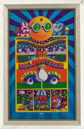 Music Memorabilia:Posters, Big Brother and the Holding Company Shrine Exposition Hall ConcertArtist Signed Poster (Pinnacle, 1968)....