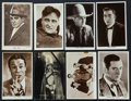 """Movie Posters:Miscellaneous, Male Star Lot (Various, 1921-1948). British Photo Postcards (16) (3.5"""" X 5.5""""). Miscellaneous.. ... (Total: 16 Items)"""