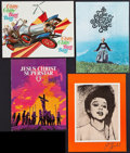 """Movie Posters:Fantasy, Chitty Chitty Bang Bang and Others Lot (Various, 1960s-1973). Souvenir Programs (4) (Multiple Pages, 7.5"""" X 12"""" - 9"""" X 12"""").... (Total: 4 Items)"""