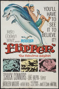 "Movie Posters:Adventure, Flipper and Others Lot (MGM, 1963). One Sheets (3) (27"" X 41"").Adventure.. ... (Total: 3 Items)"