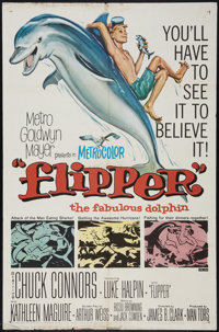 "Flipper and Others Lot (MGM, 1963). One Sheets (3) (27"" X 41""). Adventure. ... (Total: 3 Items)"