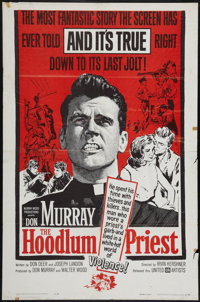 "The Hoodlum Priest & Other Lot (United Artists, 1961). One Sheets (2) (27"" X 41""). Drama. ... (Total:..."